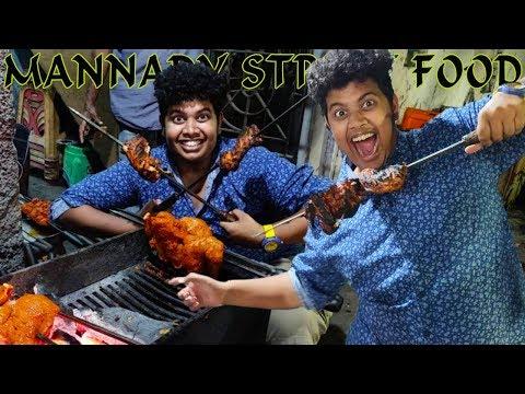 Mannady street foods |  North Chennai
