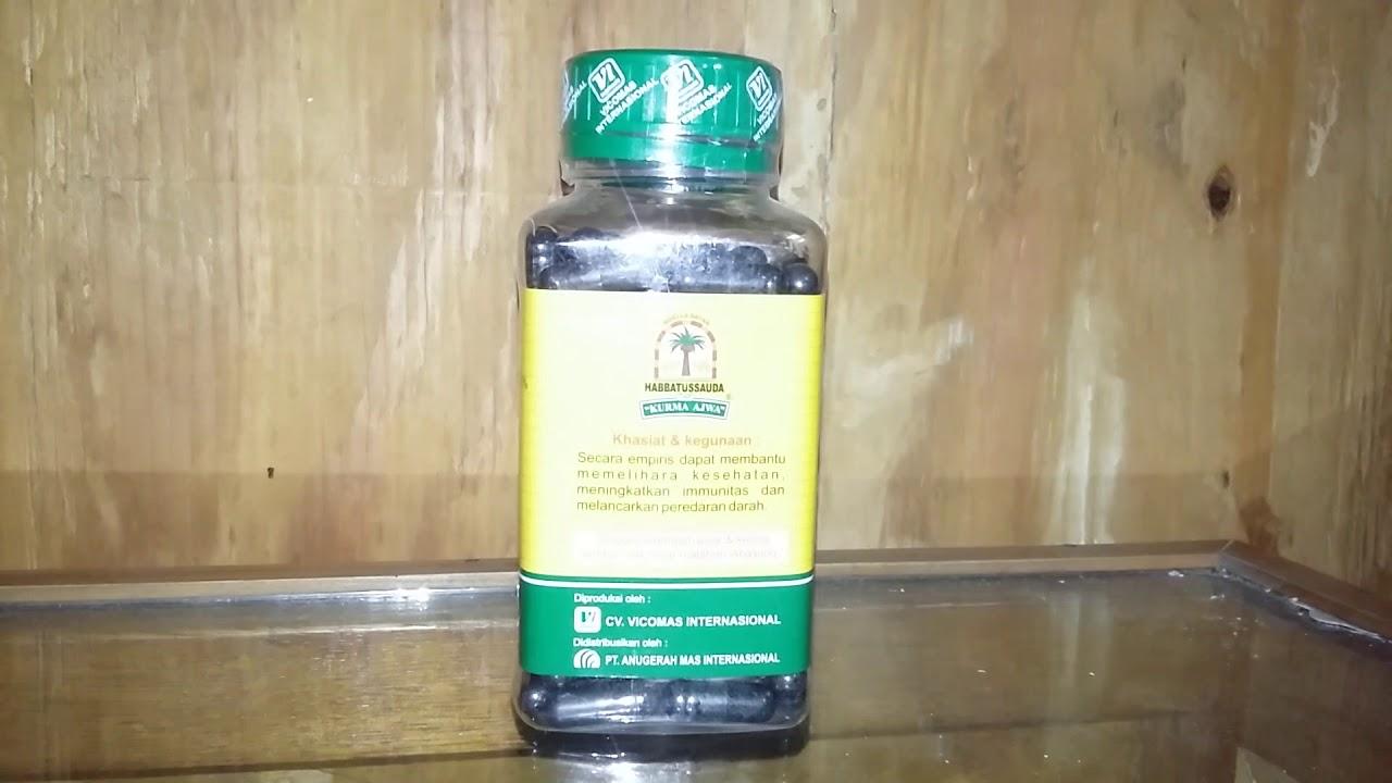 Habbatusauda Cap Kurma Ajwa 120 Kapsul I Herbal Masitex Bekasi Perum Habbatussauda Wisma Jaya