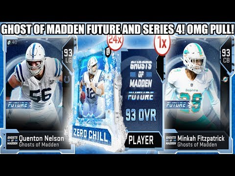 OMG GHOST OF MADDEN PULL! SERIES 4 AND GHOST OF MADDEN FUTURE! | MADDEN 19 ULTIMATE TEAM