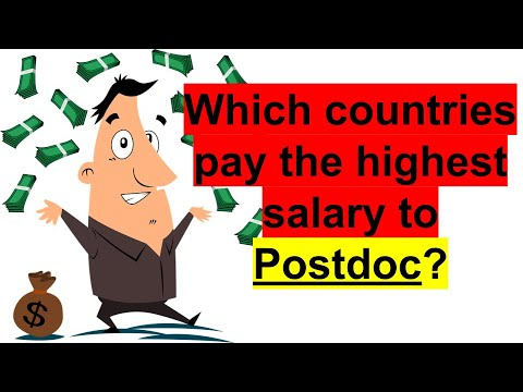 5 Highest Paying Countries For Postdocs