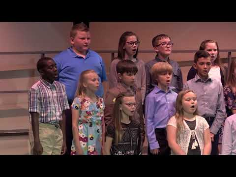 Christian Academy of Indiana Elementary Spring Concert 2018