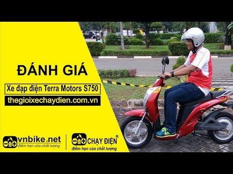 Đánh giá xe đạp điện Terra Motors S750