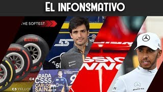 El infonsmativo | Hamilton VS TV, Grada Sainz, tabaco subliminal y Pirelli 2019