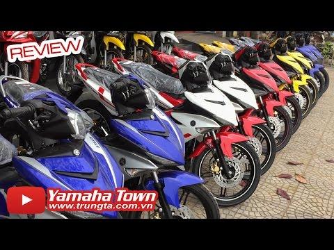 Giá xe máy Yamaha cập nhật trong Tết Nguyên Đán 2016 ✔