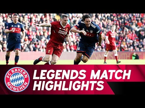 FC Liverpool vs. FC Bayern 5-5 | Highlights Legends Match