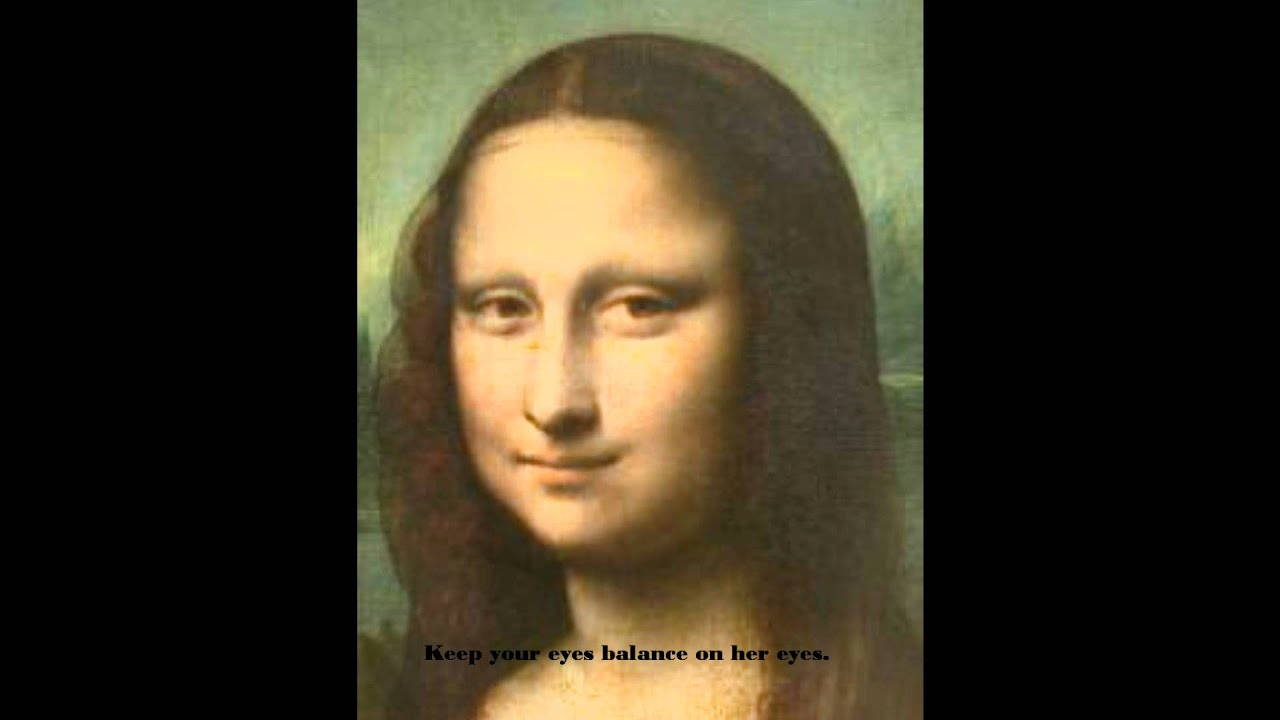 Monalisa Eye Test Screamer Scary Youtube