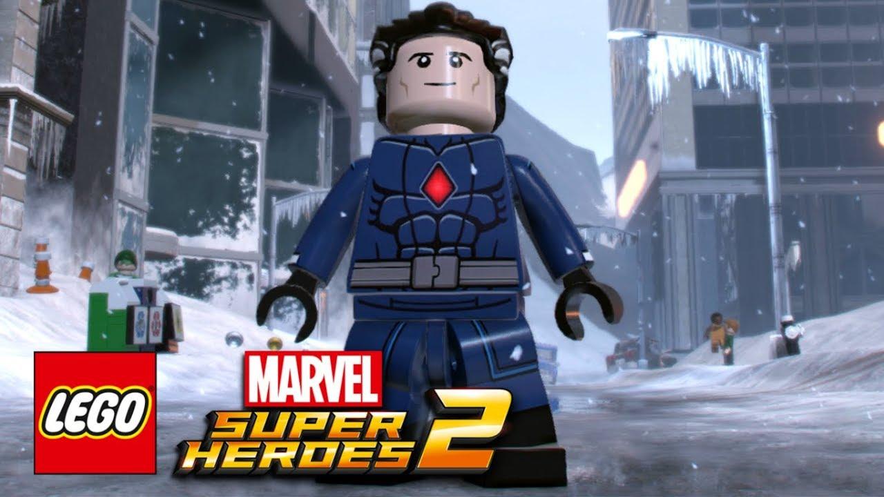 Lego Marvel Super Heroes 2 How To Make Mister Fantastic Reed