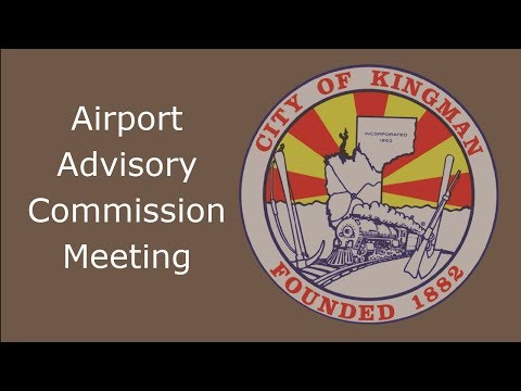 Airport Advisory Commission Meeting - 01/25/2021