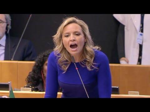 EU Green Deal DESTROYED By Italian MEP Silvia Sardone