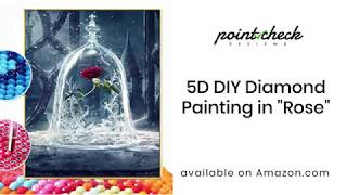 HOW-TO: 5D DIY Diamond Painting Amazon Product Un-boxing Review from Point Check Reviews