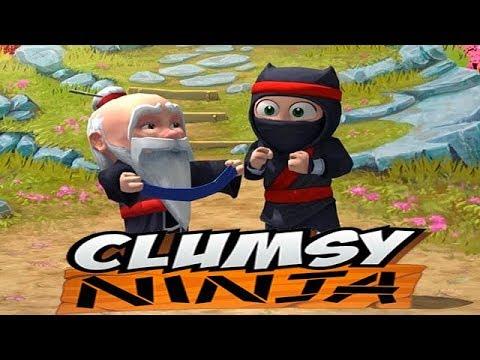 НЕУКЛЮЖИЙ Ниндзя Clumsy Ninja Знакомство Игровой мультик Детское Видео Let's play