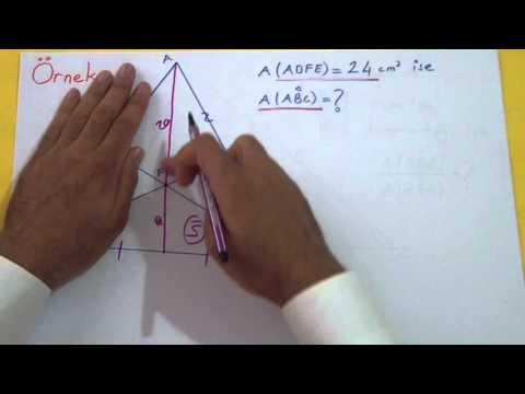Üçgende Alan 2 Şenol Hoca Matematik