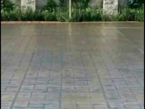 Video pisos estampados de concreto youtube - Como se echa un piso de cemento ...