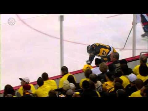 Ovechkin's slash has Crosby angrily leaving game