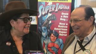 Harmon Houghton Interviews Arigon Starr - Super Indian @ Indigenous Comic Con