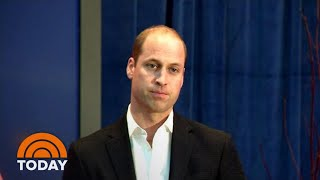 Prince William Takes Stand Against Cyberbullying In Powerful Speech | TODAY