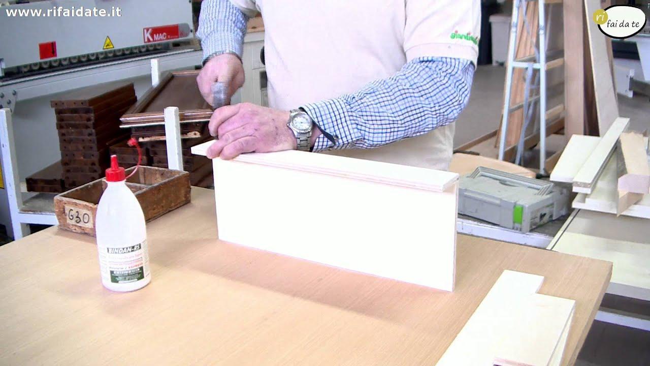 Top Come realizzare una cassetta di legno per gli attrezzi parte 1  KA03