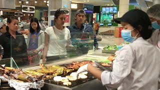 Food Court at Aeon Mall in Phnom Penh City