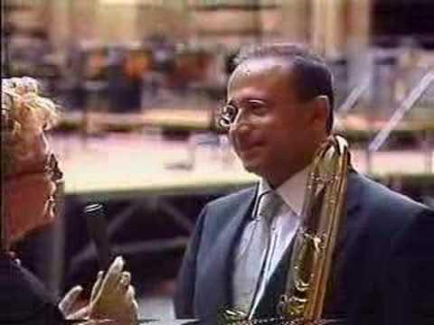 7th of July 2001,Interview of  Trombonist Eitan Bezalel