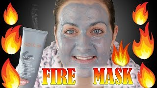 Skin Spas Fire Mask / How to face mask Sanctuary Spa Thermal Detox Mask (2018) | Claire Tutorials