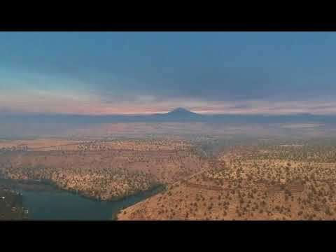 2017 Total Solar Eclipse: Drone Footage over Oregon