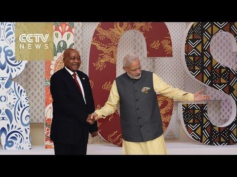 BRICS bloc holds talks with BIMSTEC