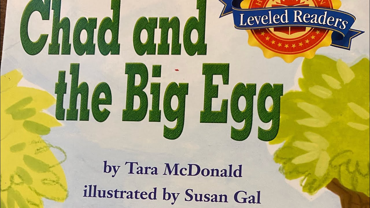CHAD AND THE BIG EGG Read Along Aloud Story Audio Book