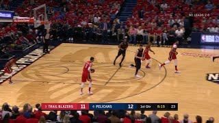 1st Quarter, One Box Video: New Orleans Pelicans vs. Portland Trail Blazers