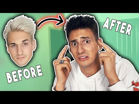 Thumbnail: a NEW Mark Dohner... GOODBYE WHITE HAIR! (Challenge)