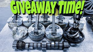 GIVEAWAY TIME!!! Teardown of the OG Murder Nova's old 572ci Big Block Chevy! MUST WATCH!