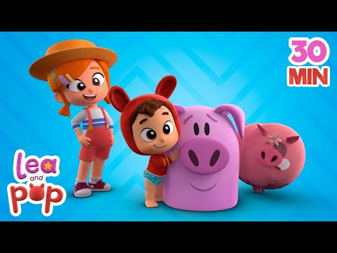 This Little Piggy + Baby Songs for KIDS | Kids Music | Songs for KIDS | Lea and Pop Baby Songs