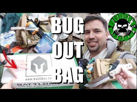 UNBOXING: Bug Out Bag / 72 Hour Survival Kit (w/Survival Knife) — BattlBox Mission 34 (& Xmas Gear)