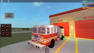 Roblox: Fire Truck Lights And Sirens Demo