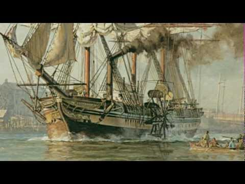 "Steamship Savannah Segment from ""Savannah's Famous Ships"""