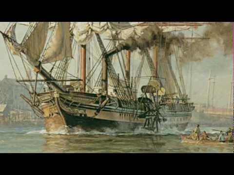 """Steamship Savannah Segment from """"Savannah"""