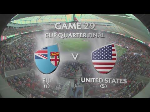 Fiji Vs USA Cup Qt Final Vancouver 7s 2016