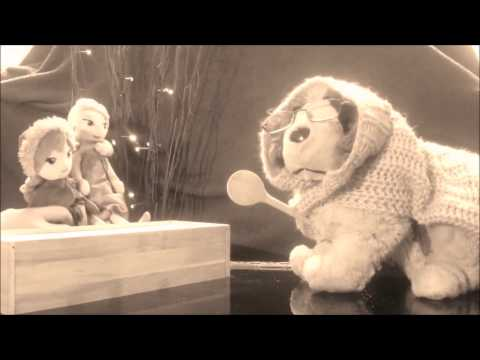 Musikvideo, der böse Wolf singt ring of fire