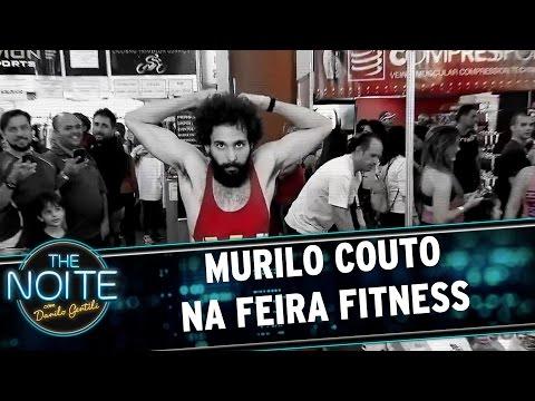 Murilo Couto visita a Feira Fitness   The Noite (19/05/17)