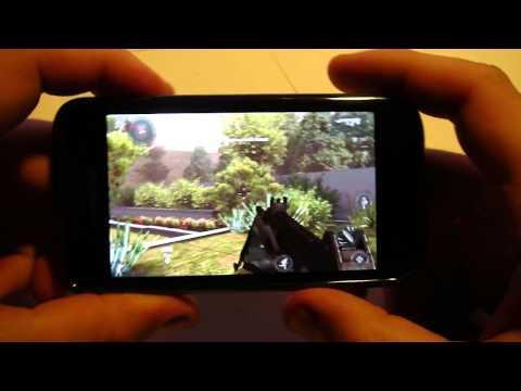 Samsung Galaxy S Ice Cream Sandwich 4.0.3 Onecosmic's ROM RC3.1 GAME TEST