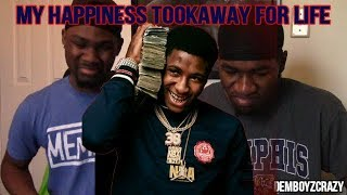 NBA Youngboy - My Happiness Took Away For Life(Reaction)