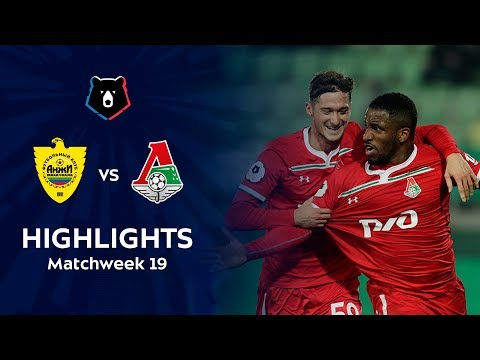 Highlights Anzhi vs Lokomotiv (0-2)