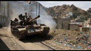 طلائع قوات الشرعية اليمنية على مشارف صنعاء