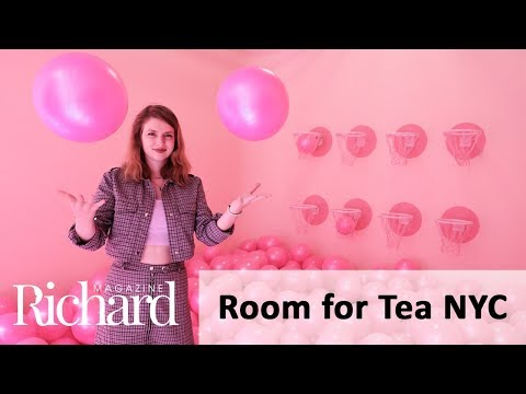 Take a Look Inside the Room for Tea NYC Pop-Up Art Installation