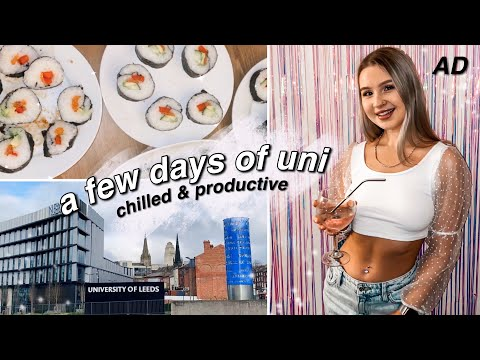 A FEW DAYS OF ONLINE UNI | chilled & productive