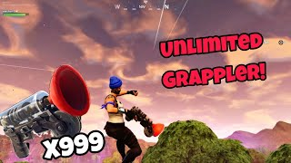 Unlimited Grappler Glitch (100% working) Fortnite Glitches Season 5 PS4/Xbox one 2018