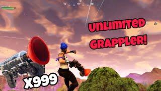 Unlimited Grappler Glitch (100% working) Fortnite Glitches Season 5 PS4/Xbox one 2018