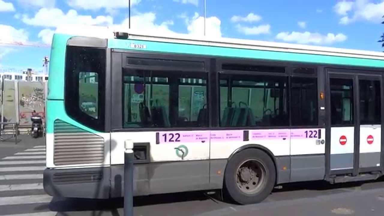 Irisbus Agora Line Et Renault Agora S V2 Sur La Ligne 122