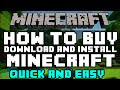 How To Buy Minecraft PC 2015 (QUICK & EASY) - How To Buy, Download and Install Minecraft Premium PC