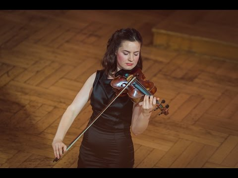 Amalia Hall (New Zealand) - Stage 1 - International H. Wieniawski Violin Competition BINAURAL