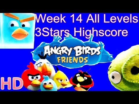 Angry Birds Friends - Week 14 Tournament All Levels August 14 3Star Walkthrough Week 14 All Levels from YouTube · Duration:  3 minutes 42 seconds